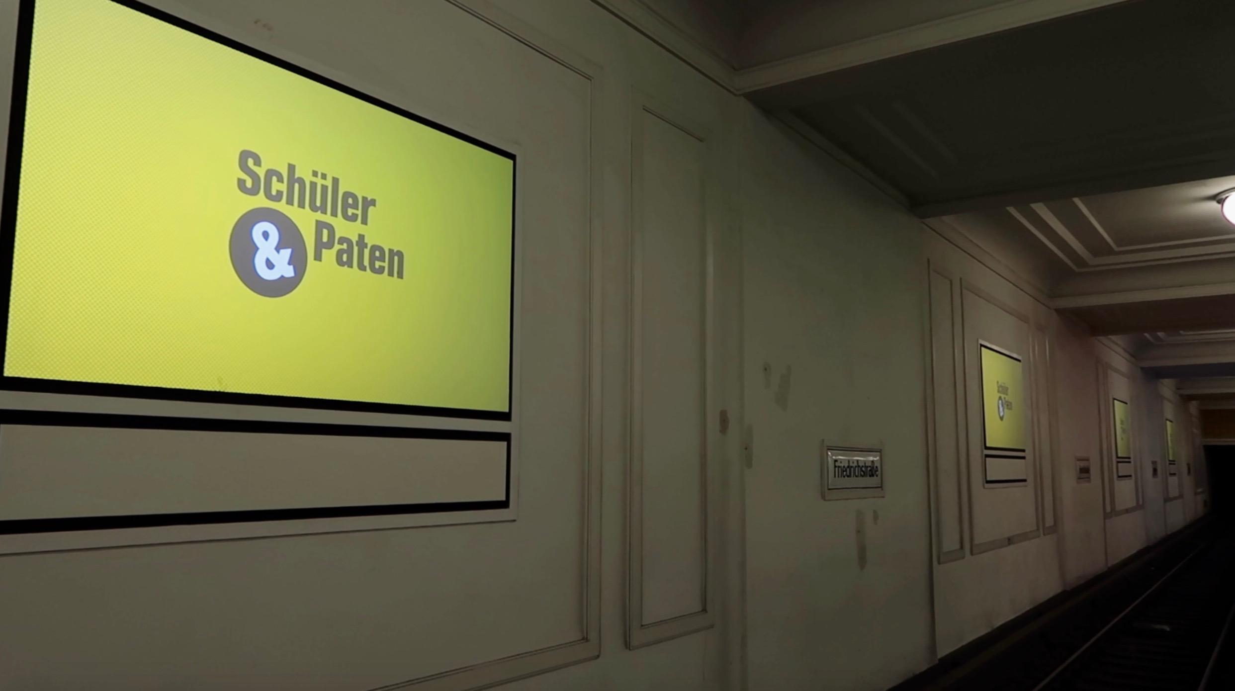 Launch der Schülerpaten-Berlin-Werbekampagne