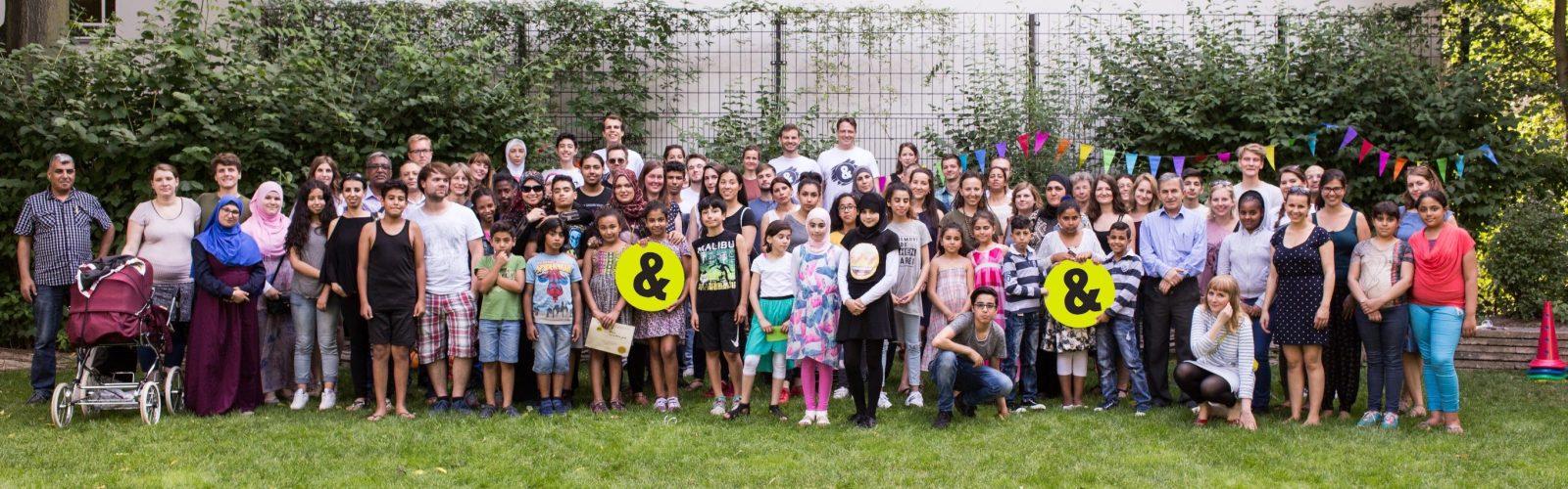 Sommerfest Gruppenfoto